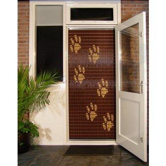 Liso ® Vliegengordijn DHZ-Pakket Liso® Hondenpootjes - Doe-het-zelf pakket. Prijs per / m²