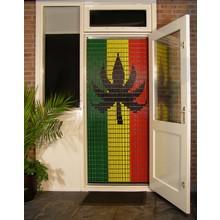 Liso ® 105 Fliegenvorhang mit Rasta-Flagge - DIY-Paket | Preis / m²
