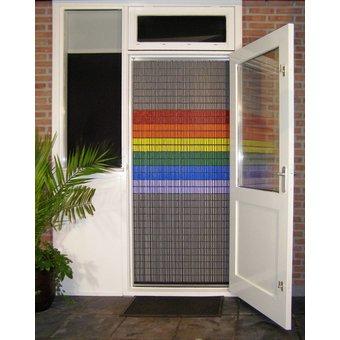 Liso ® Fliegenvorhang DIY-Paket Liso® Regenbogenfahne - Do-it-yourself-Paket. Preis pro m²
