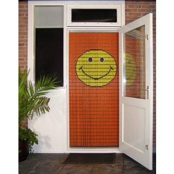 Liso ® Vliegengordijn DHZ-Pakket Liso®  Smiley - Doe-het-zelf pakket. Prijs per / m²