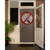 Liso ® 113 Vliegengordijn met symbool: Roken verboden - Doe-het-zelf pakket | Prijs / m²