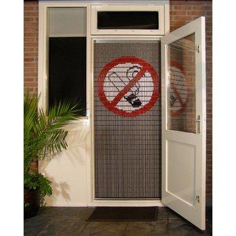 Liso ® Vliegengordijn DHZ-Pakket Liso® Roken verboden - Doe-het-zelf pakket. Prijs per / m²
