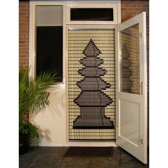 Liso ® Vliegengordijn DHZ-Pakket Liso® Japanse Toren - Doe-het-zelf pakket. Prijs per / m²