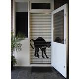 Liso ® 116 Fliegenvorhang mit schwarzer Katze - Do-it-yourself-Paket | Preis / m²