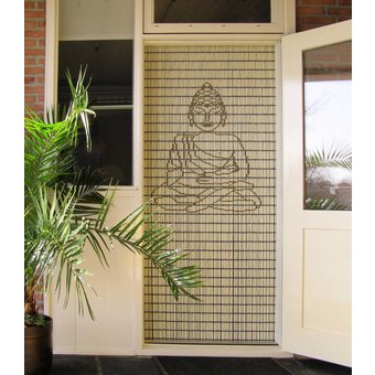 Liso ® Fliegenvorhang DIY-Paket Liso® Buddha klein - Do-it-yourself-Paket. Preis pro / m²