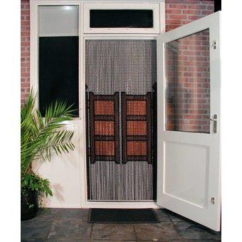 Kriska ® Kettenvorhang Fly Curtain fertige 92x209 Limousinentüren.