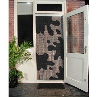 Kettinggordijn Liso ® Kettenvorhang Fliegenvorhang fertig 92x209 Kuhflecken