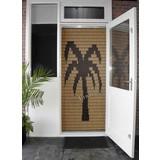 Miami ® Vliegengordijn Miami Palm - kant en klaar 92 x 209