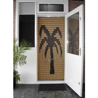 Miami ® Vliegengordijn Miami kant en klaar 92 x 209 Palm