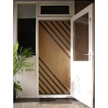 Miami ® Vliegengordijn Miami Streep - Doe-het-zelf pakket | Prijs per m²