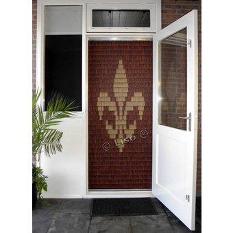 Miami ® Fliegenvorhang Miami DIY Package Lely Woodlook | Preis pro m²