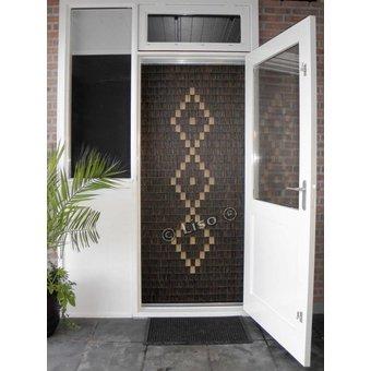 Miami ® Fliegenvorhang Miami DIY Paketliste Woodlook | Preis pro m²
