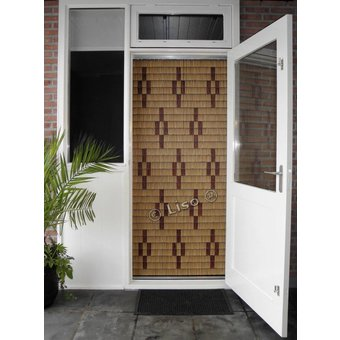 Miami ® Fliegenvorhang Miami DIY Package Stars Woodlook | Preis pro m²