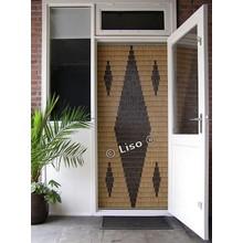 Miami ® Vliegengordijn Miami Vijf ruiten - Doe-het-zelf pakket | Prijs per m²