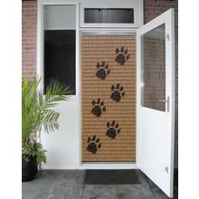 Miami ® Vliegengordijn Miami Hondenpootjes - kant en klaar 92 x 209