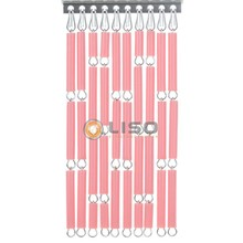 Liso ® Fliegenvorhang Pink - Do-it-yourself-Paket / m2