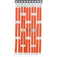 Liso ® Fliegenvorhang Orange - Do-it-yourself-Paket / m2