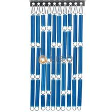 Liso ® Vliegengordijn Blauw - Doe-het-zelf pakket / m2