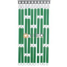 Liso ® Vliegengordijn Groen - Doe-het-zelf pakket / m2