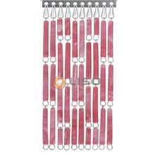 Liso ® Fliegenvorhang Rot / Rosa geflammt - Do-it-yourself-Paket / m2