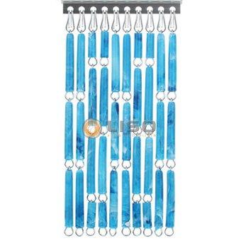 Liso ® Vliegengordijn DHZ-Pakket Liso® Blauw gevlamd