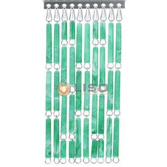 Liso ® Vliegengordijn DHZ-Pakket Liso® Groen gevlamd