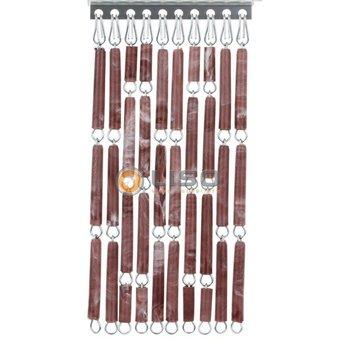 Liso ® Fliegenvorhang DIY Liso® Brown Flamed