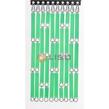 Liso ® Vliegengordijn Signaalgroen - Doe-het-zelf pakket / m2