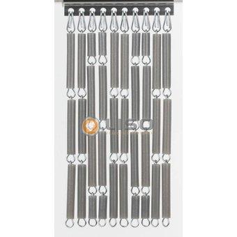 Liso ® Vliegengordijn DHZ-Pakket Liso® Zilver metallic