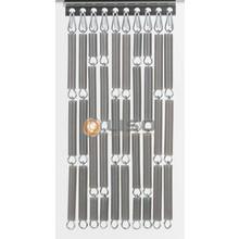 Liso ® Vliegengordijn Zilver metallic - kant en klaar 92 x 209