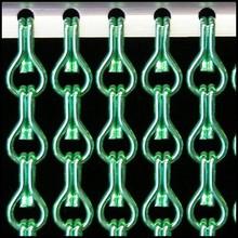 Kettinggordijn Liso ® Kettenvorhang Hellgrün: Maßanfertigung | Preis pro m²