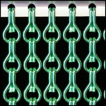 Kriska ® Kette Vorhang | Fliegen-Lichtvorhang: Maßgeschneidert | Preis pro m²