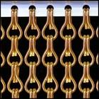 Kettinggordijn Liso ® Kettinggordijn Oranje: Op maat gemaakt   Prijs per m²