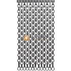 Kettinggordijn Liso ® Extra dicht kettinggordijn Antraciet/Grijs: Op maat gemaakt    Prijs/m²