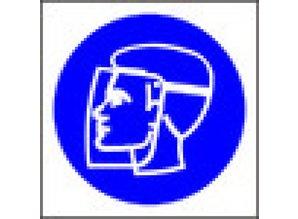 Wear Face Shield (symbol)