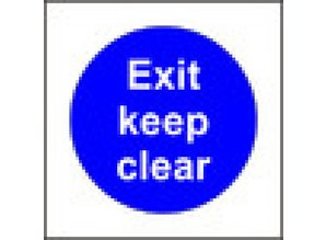 Exit keep clear