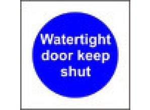 Watertight door keep shut