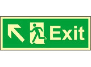 Exit Left, Up