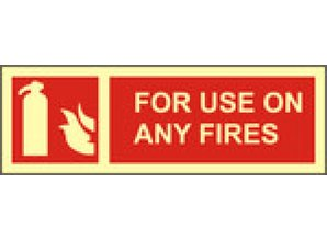 For Use On Any Fires