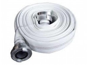 Fire hose White MED approved