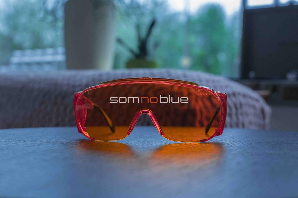 6a3cff31870 Blauw licht blokkerende bril (voor brildragers) | Slaapbril SB-F2