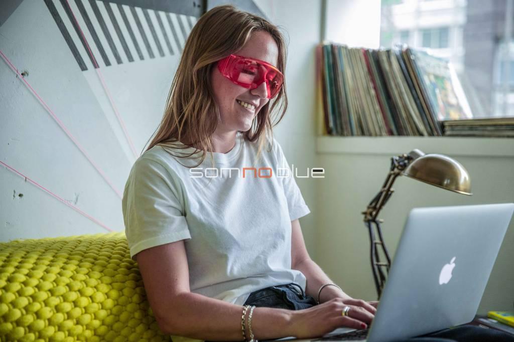 Blue light filtering glasses SB-F2