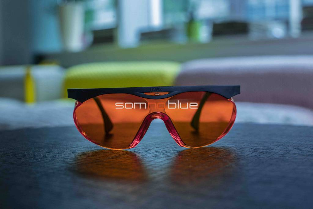 Blauw licht filterende slaapbril SB-2