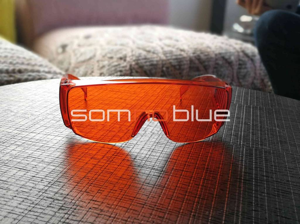 SB-F1 SOMNOBLUE SCHLAFBRILLE 'FIT-OVER'