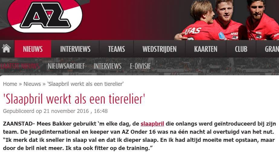 Project met AZ Alkmaar
