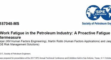 Our glasses applied to reduce shift-Work Fatigue in the Petroleum Industry