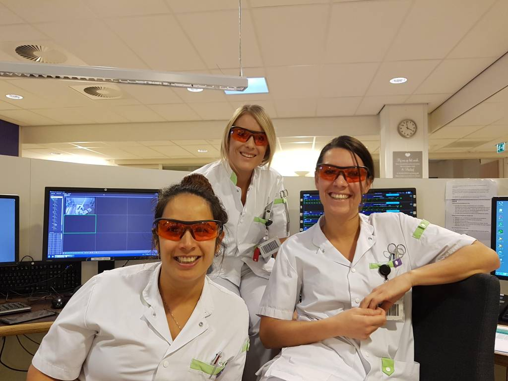 Our workshops and Somnoblue sleep glasses at the Intensive Care departments of Maasstad and Haga Hospital