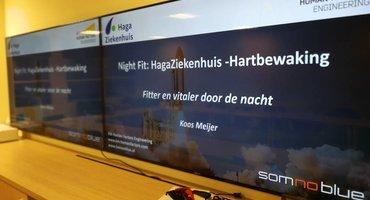 Somnoblue brillen en workshops bij de Hartbewaking van het HagaZiekenhuis