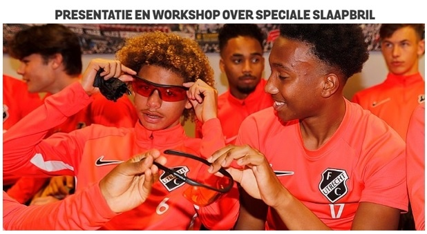 Somnoblue bij Oranje 016 en de jeugdteams van FC Utrecht