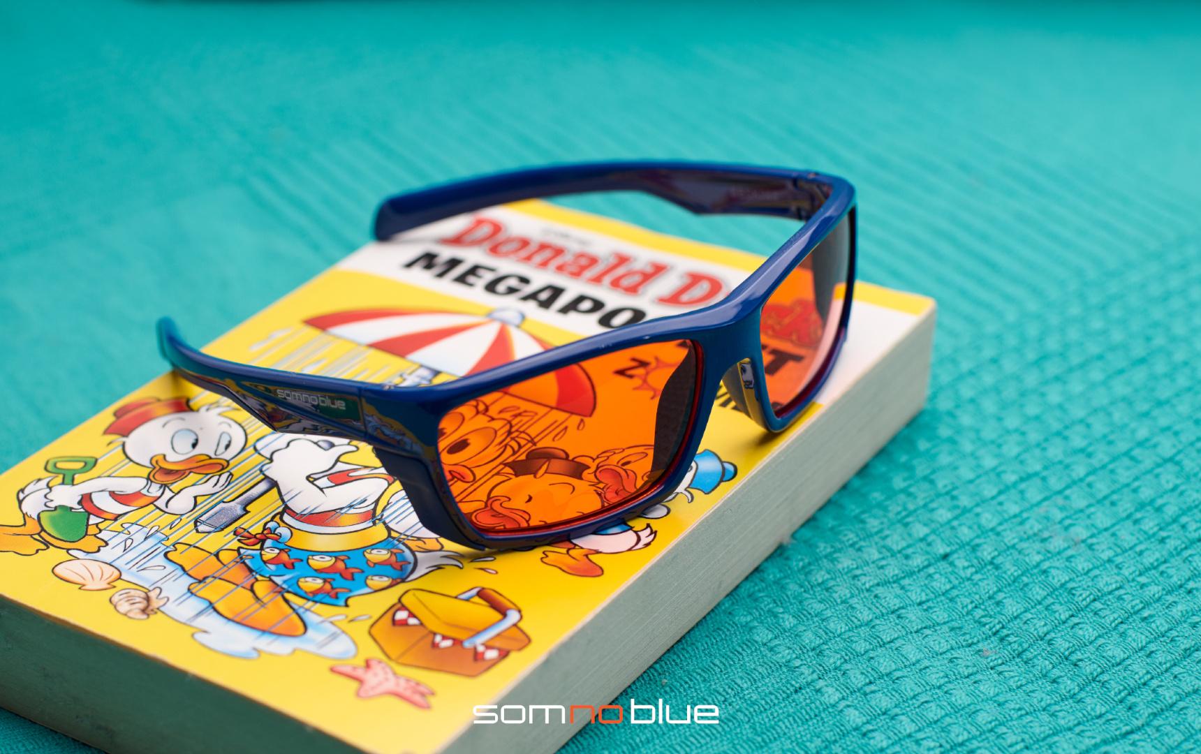 Blauw licht filter bril voor kinderen - krachtigste slaapbril voor uw kind
